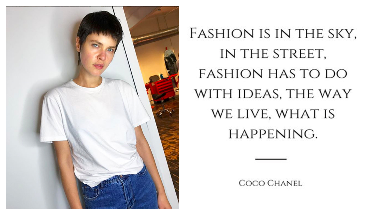 Read more about the article Blue Jeans and Coco Chanel